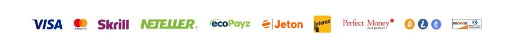 Betalingsmetoder på 20Bet
